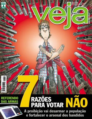 Capa da revista Veja 380